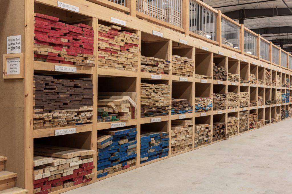 выкладка строительных товаров